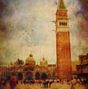 Piazza San Marco - Venice Poster
