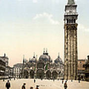 Piazza San Marco, 1890s Poster