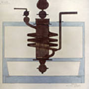Picabia: Paroxyme, 1915 Poster
