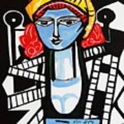 Picasso By Nora  Film Star Poster