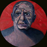Picasso The Artist Icon Poster