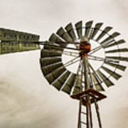 Piceance Basin Windmill Poster