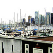 Picturesque Vancouver Harbor Poster