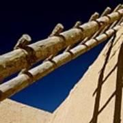 Picuris Pueblo Ladder. Poster
