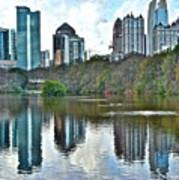 Piedmont Park Atlanta Reflection Poster