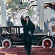 Pierce-arrow Ad, 1925 Poster