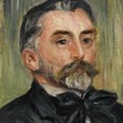 Pierre-auguste Renoir 1841-1919 Portrait Stephane Mallarme Poster
