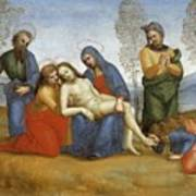 Pieta Raffaello Sanzio Da Urbino Raphael Raffaello Santi Poster