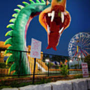 Pigeon Forge Dragon Poster