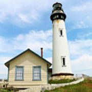 Pigeon Point Lighthouse View Poster