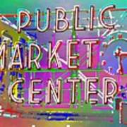 Pike Place Market 3 Poster