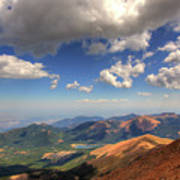 Pikes Peak Summit Poster