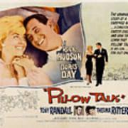 Pillow Talk, Doris Day, Rock Hudson Poster by Everett