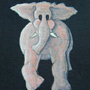 Pink Elephant 1 Poster