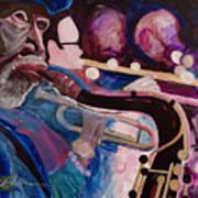 Pink Jazz Poster