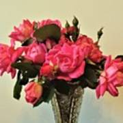 Pink Roses Bouquet 2 Poster