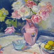 Pink Vase Poster
