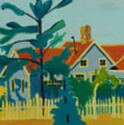 Pinkys House On Monhegan Poster
