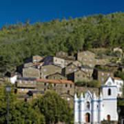 Piodao Village Church Poster