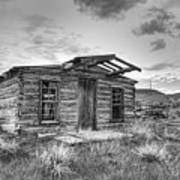 Pioneer Home - Nevada City Ghost Town Poster
