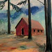 Pioneer School House Poster