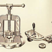 Pipe Vise Poster