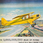 Piper Airplane  Poster