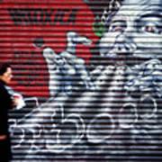 Piper At The Gates Of Portobello Poster