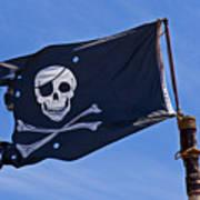 Pirate Flag Skull And Cross Bones Poster