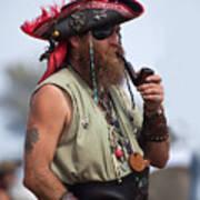 Pirate Peanut Island Florida Poster