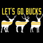 Pirates - Pittsburgh - Let's Go Bucks Poster