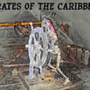 Pirates Skeleton Poster by David Lee Thompson