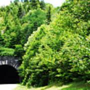 Pisgah Tunnel Poster
