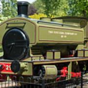 Pittencrieff Park Engine Poster