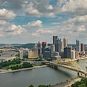 Pittsburg Skyline Poster