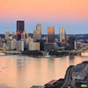 Pittsburgh 16 Poster by Emmanuel Panagiotakis
