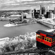 Pittsburgh From The Incline Poster
