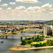 Pittsburgh Hdr Poster by Arthur Herold Jr
