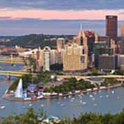 Pittsburgh Pano 23 Poster by Emmanuel Panagiotakis
