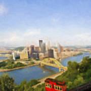 Pittsburgh Pennsylvania Incline Poster