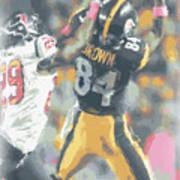 Pittsburgh Steelers Antonio Brown 2 Poster