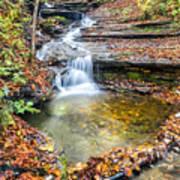 Pixley Falls State Park Lesser Falls Poster