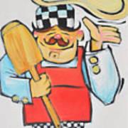Pizza Chef Poster