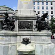 Place D'armes Sculpture 5 Poster