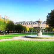 Place De Vosges, Paris Poster