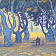 Place Des Lices St Tropez Poster