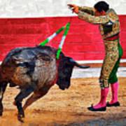Placing Bandirillas Poster