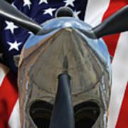 Planes Of Fame P-40c Warhawk Poster