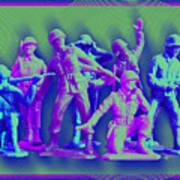 Plastic Army Man Battalion Pop Poster