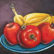 Platter Of Fruit Poster